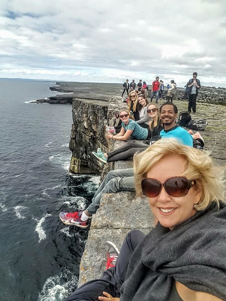 Ireland Study Abroad 2017 Cliffs